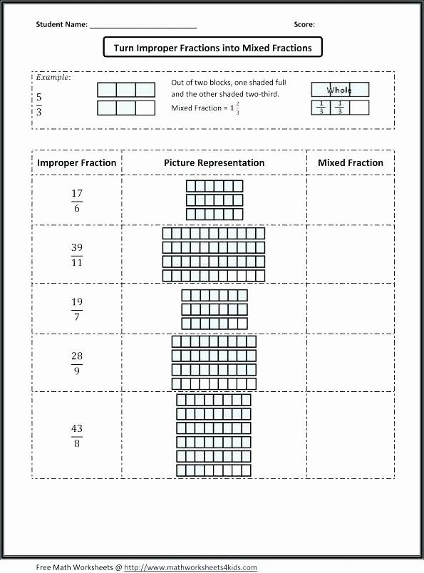 Fractions Worksheets Grade 4 Pdf Types Of Fractions Worksheets Pdf