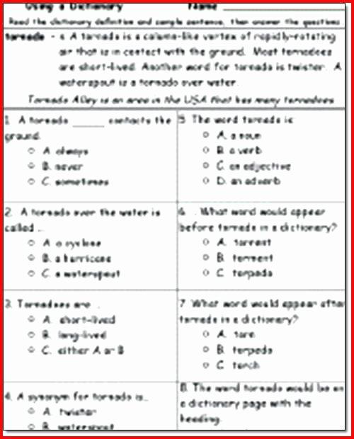 Free 1st Grade Comprehension Worksheets Grade 2 Reading Prehension Worksheets Fresh Meet the