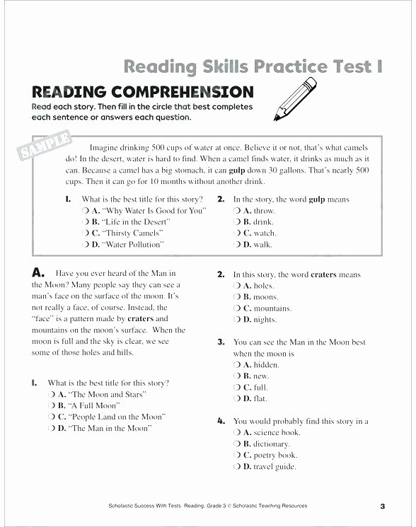 Free 2nd Grade Comprehension Worksheets and Sen topic Resources Winter Reading Prehension Reading