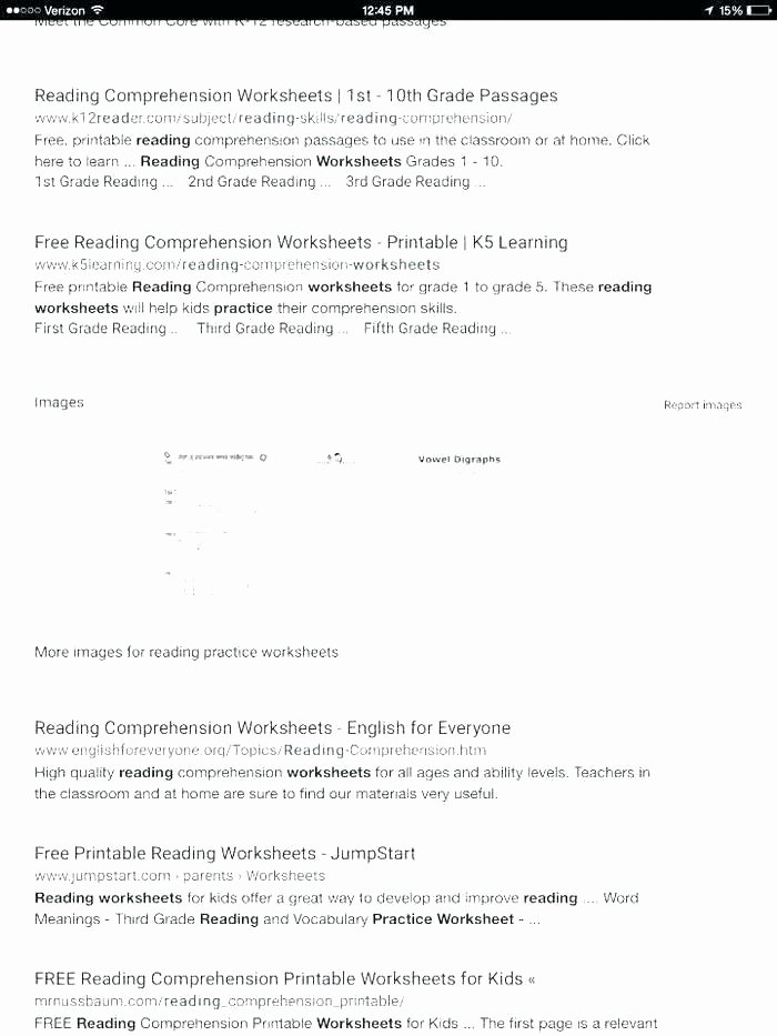 Free 2nd Grade Comprehension Worksheets Grade Reading Prehension Thanksgiving 7th Grade Science