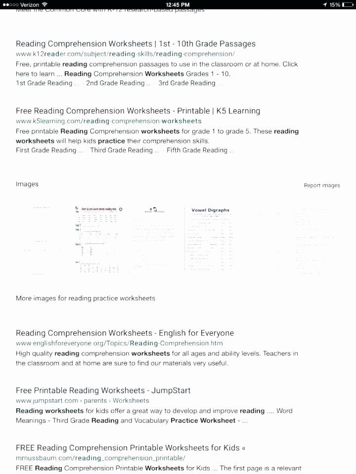 Free 7th Grade Reading Worksheets Reading Prehension Printable Worksheets Printable