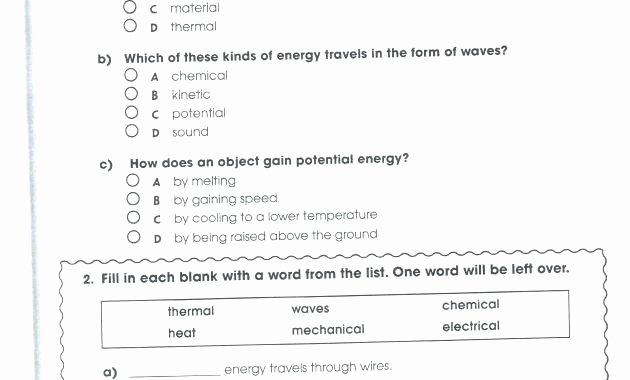 Free 8th Grade Science Worksheets Free Printable Grade Science Worksheets 5 E Classy World for
