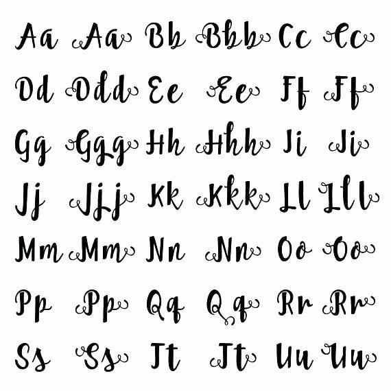 Free Calligraphy Worksheets Printable Cursive Alphabet Handwriting Worksheet A Z Worksheets with
