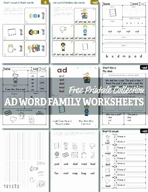 Free Calligraphy Worksheets Printable Printable Word Family Worksheets