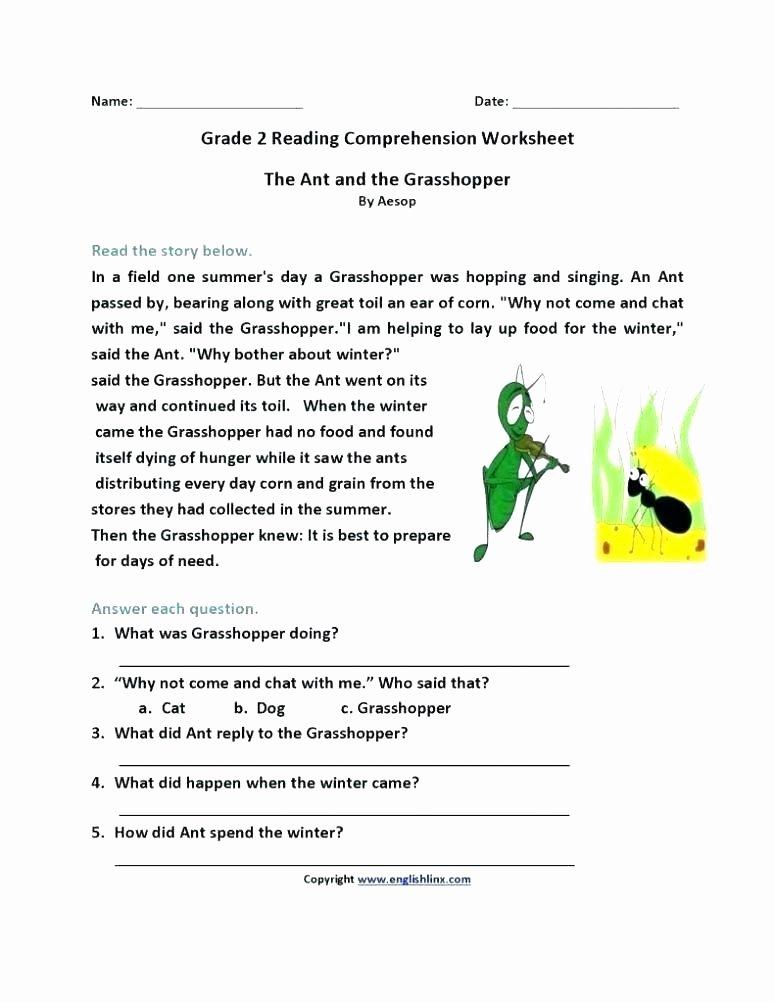 Free Christmas Reading Comprehension Worksheets Free Reading Prehension Worksheets Grade 2