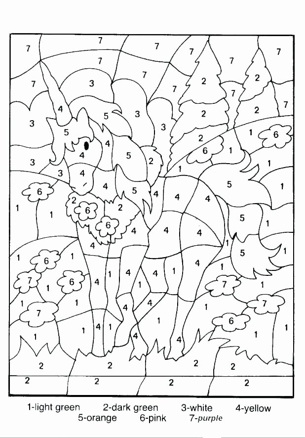 Free Color by Numbers Worksheets Fall Color by Number – Moxic