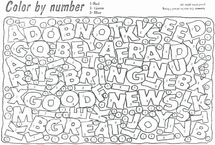 Free Color by Numbers Worksheets Hard Color by Number Coloring Pages – Freericardopalmera