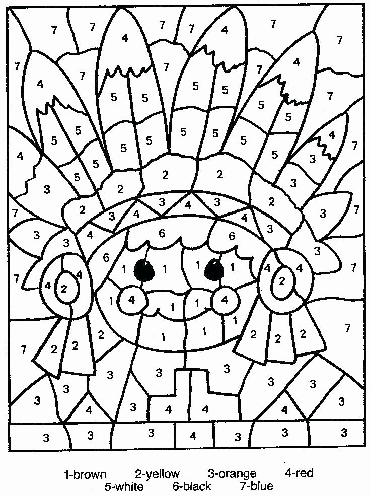 Free Color by Numbers Worksheets Winnie the Pooh Color by Number – Club Osijek