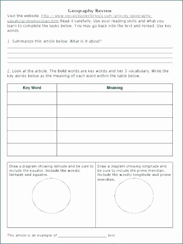Free Contraction Worksheets Free History Worksheets Us Worksheet Art for Middle School