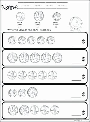 Free Counting Coins Worksheets Best Of Free Identifying Coins Worksheets Free Coin Worksheets Free