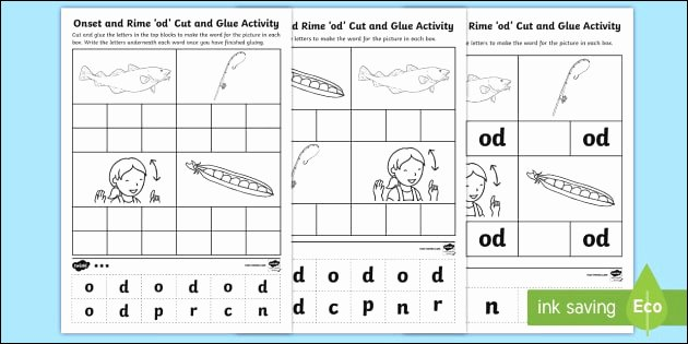 Free Cut and Paste Worksheets Awesome 30 Cvc Worksheets Cut and Paste