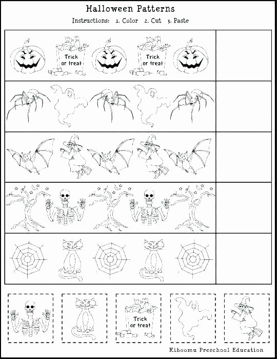 Free Cut and Paste Worksheets Inspirational Preschool Cut and Paste Worksheets
