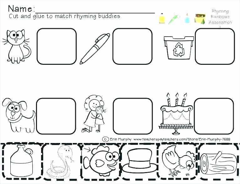 Free Cut and Paste Worksheets Lovely Letter T Cut and Paste Worksheets