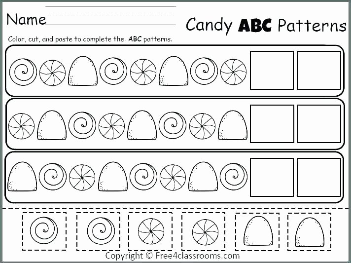 Free Cut and Paste Worksheets Unique Cut and Paste Worksheets for Kids