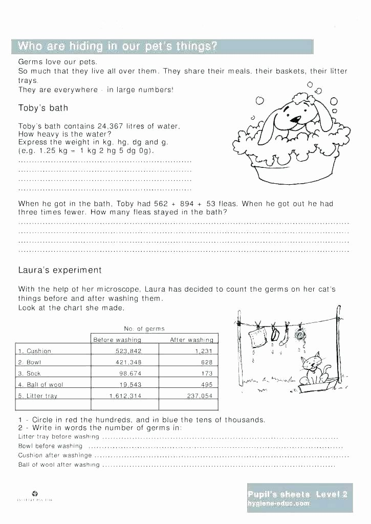 Free Dental Health Worksheets Free Preschool Science Worksheets Healthy and Unhealthy