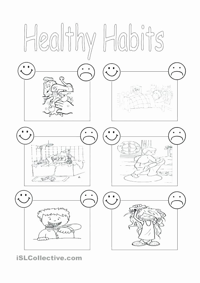 Free Dental Health Worksheets Preschool Science Worksheets Pdf