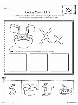 Free Ending sounds Worksheets Free Letter sound Worksheets