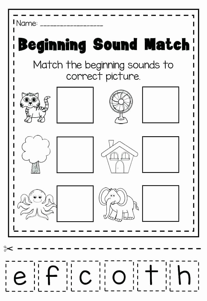 Free Ending sounds Worksheets Pre K Phonics Worksheets