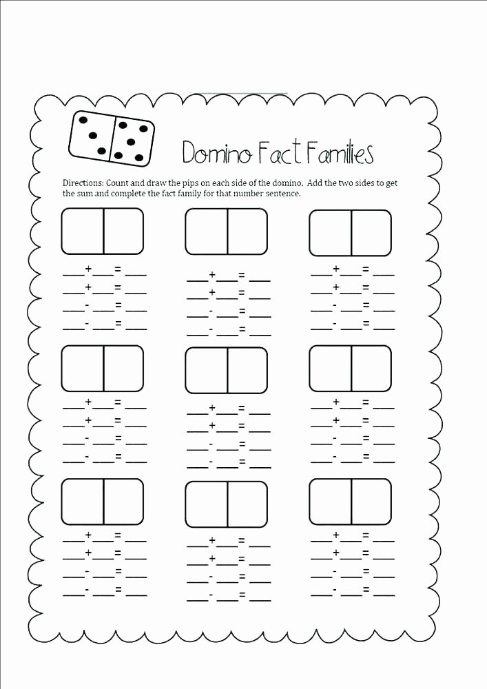 Free Fact Family Worksheet Missing Number Multiplication and Division Worksheets Free Bonds