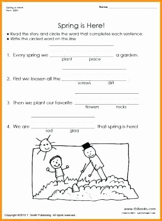 Free First Grade Reading Worksheets Printable English Worksheets for 1st Grade