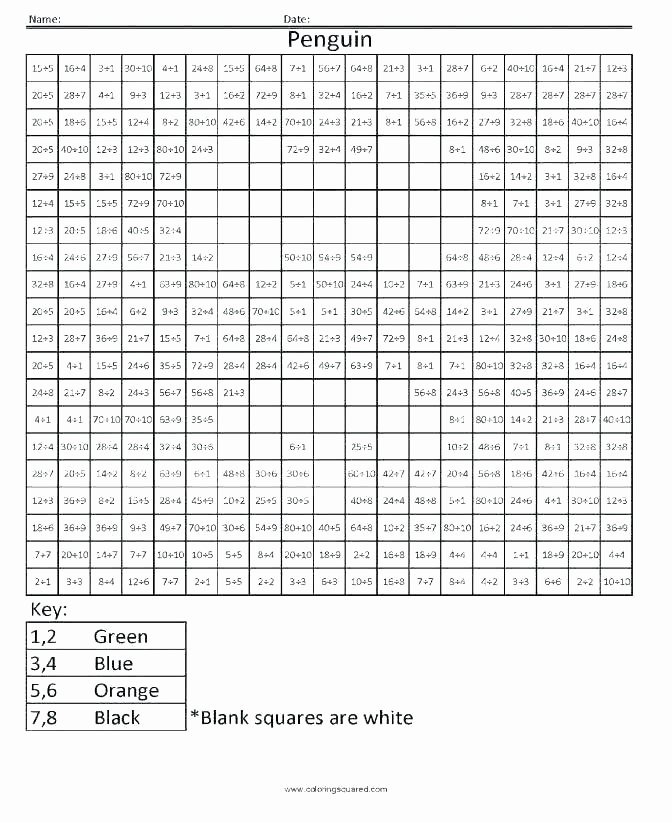 Free Grid Coloring Worksheets Mystery Picture Grid Coloring Worksheets