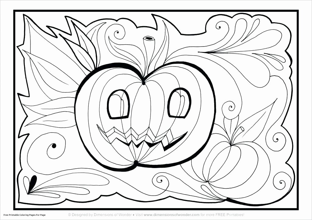Free Kindergarten Halloween Worksheets Printable Halloween Coloring Worksheets – Johnrozumart