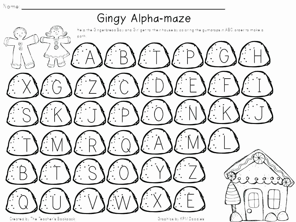 Free Kindergarten Halloween Worksheets Printable Letter A B C Worksheets 1 Free for Kindergarten Sight Words