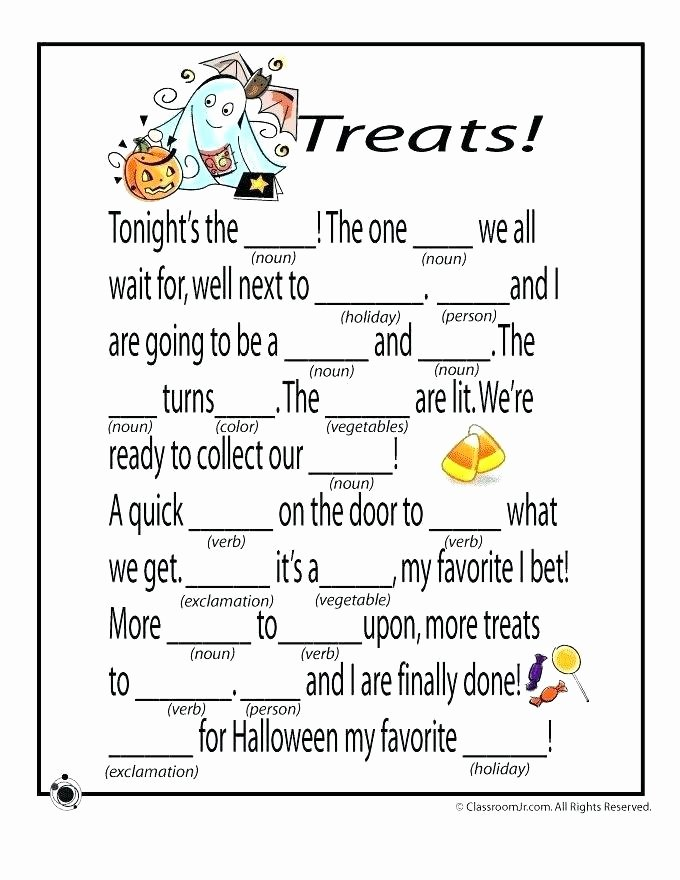 mad treats games and activities printable worksheets fun halloween preschool pdf for grade kids pumpkin coloring pages