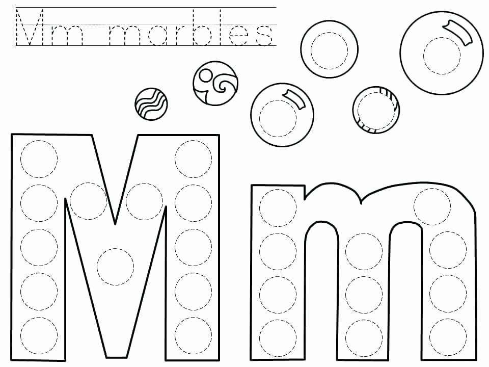 Free Letter M Worksheets Letter M Printable Worksheets