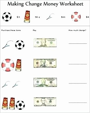 Free Making Change Worksheets Counting Money Worksheets Grade 2