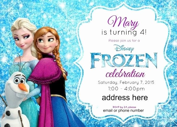 Free Online Frozen Invitations Disney S Frozen Birthday Party Ideas Pink Purple Blue