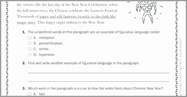 Free Paragraph Writing Worksheets Grade Language Arts Worksheets Awesome Grammar Worksheets
