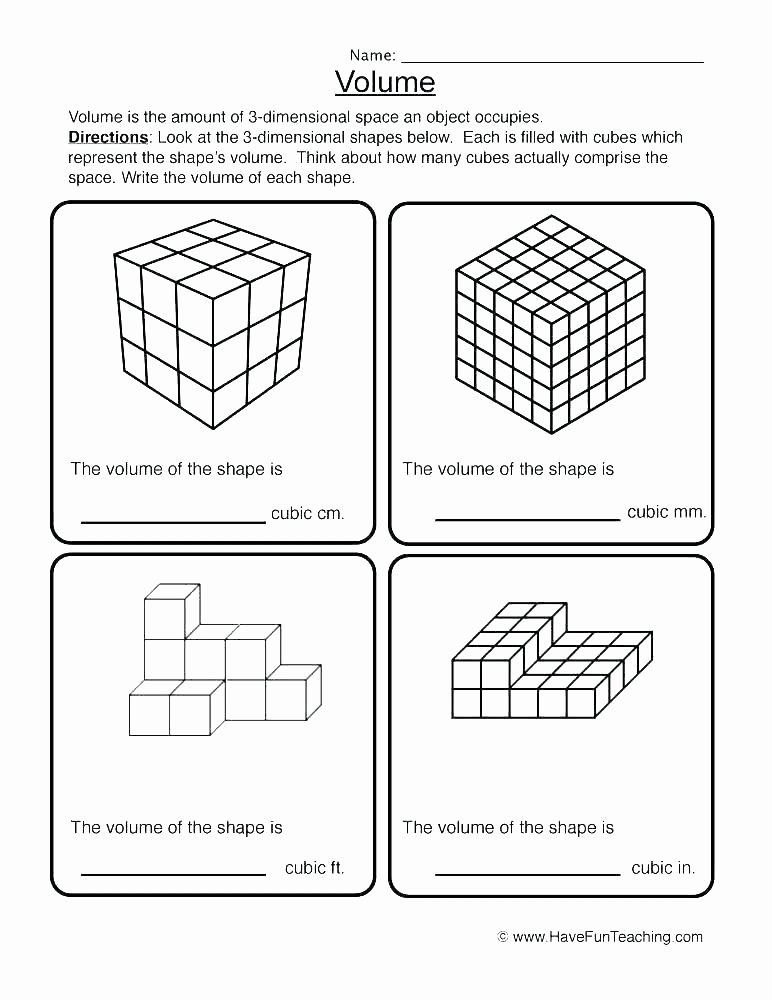 Free Printable 3d Shapes Worksheets 3 Dimensional Worksheets