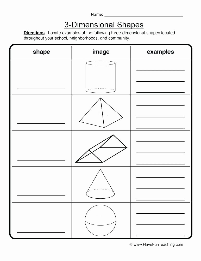 Free Printable 3d Shapes Worksheets Drawing Geometric Shapes Worksheets Drawing A Diamond Shape