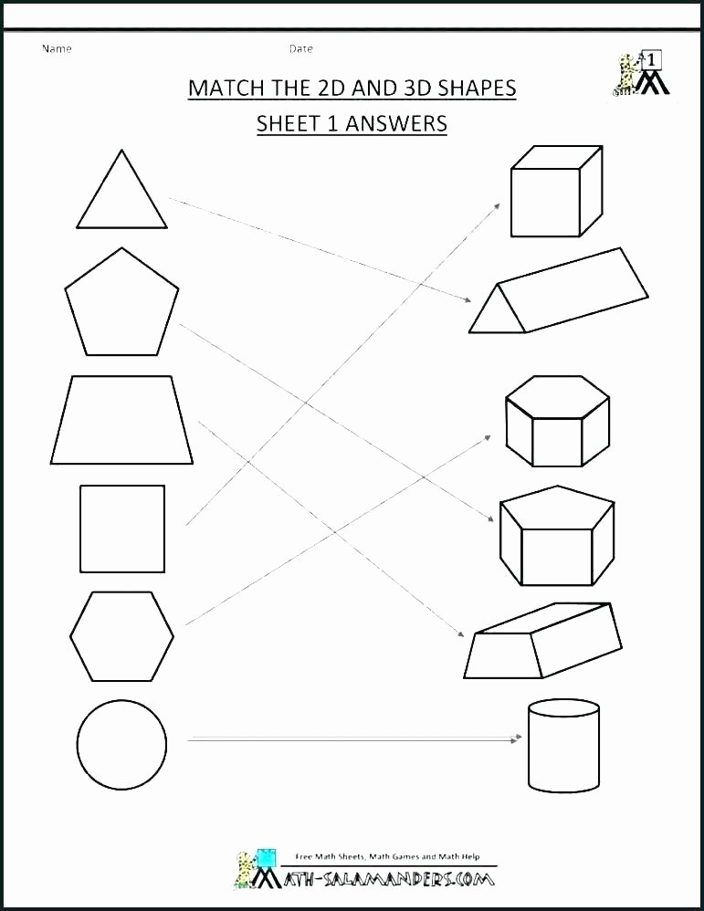 Free Printable 3d Shapes Worksheets Pre K Shapes Worksheets K Worksheets Shapes K Activity