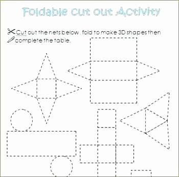 Free Printable 3d Shapes Worksheets top Math Sequencing to Printable Pattern with Cool Geometric
