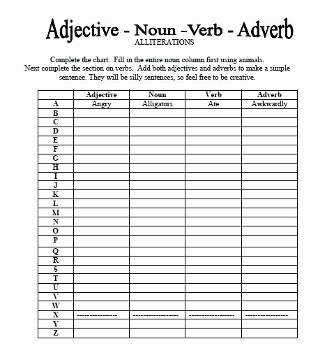 Free Printable Adjective Worksheets Teaching Adjectives Worksheets