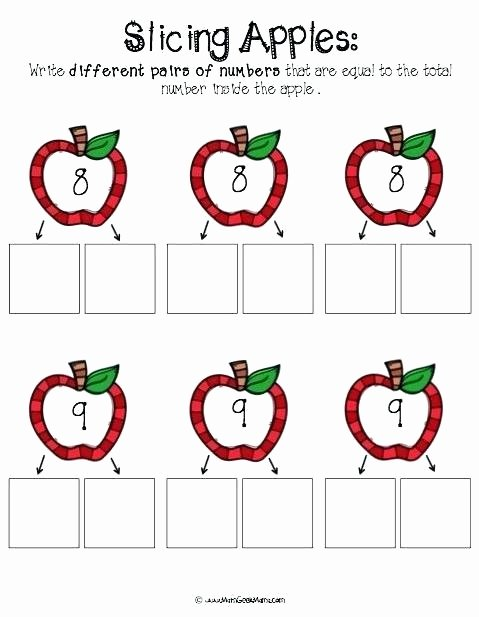 Free Printable Apple Worksheets Beautiful Apple Math Worksheets