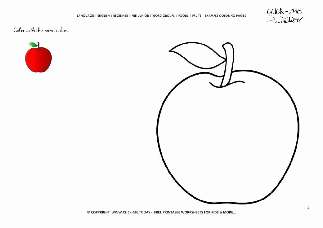 Free Printable Apple Worksheets Luxury Free Apple Worksheets