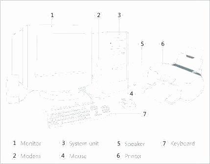 Free Printable Computer Keyboarding Worksheets Best Of Puter Lesson Worksheets Activity Parts Match Worksheet