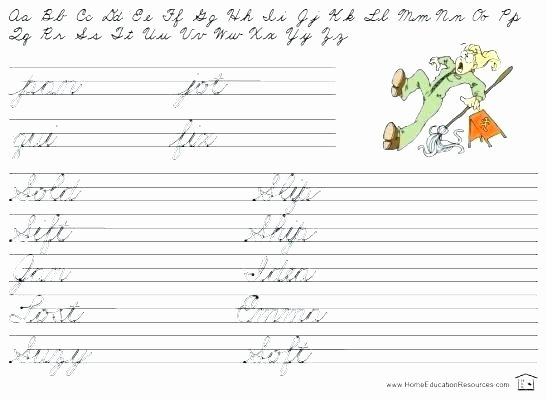 Free Printable Cursive Alphabet Chart Cursive Writing Alphabet Practice Sheets Free Printable