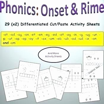 Free Printable Cutting Worksheets Ed Ending sounds Worksheets