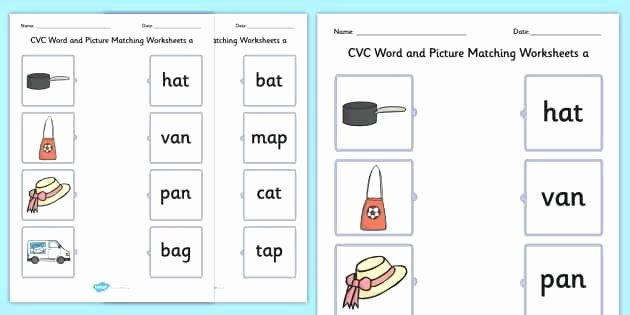 Free Printable Cvc Worksheets Cvc Words Worksheets