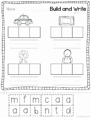 Free Printable Cvc Worksheets Sentences with Cvc Words Worksheets Words Fun with Mama Word