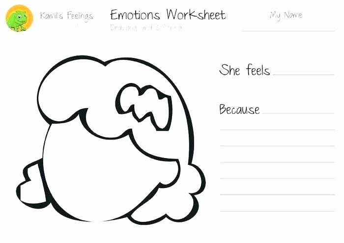 Free Printable Feelings Worksheets Collection Free Feelings Worksheet Ready to Download
