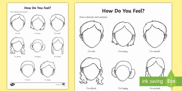 Free Printable Feelings Worksheets Emotions and Feelings Worksheet Worksheet Worksheet