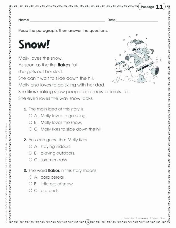 Free Printable Figurative Language Worksheets Language Worksheets for Kids
