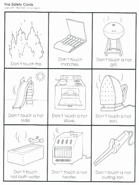 Free Printable Fire Safety Worksheets Fire Safety for Kids Coloring Pages – thefrangipanitree