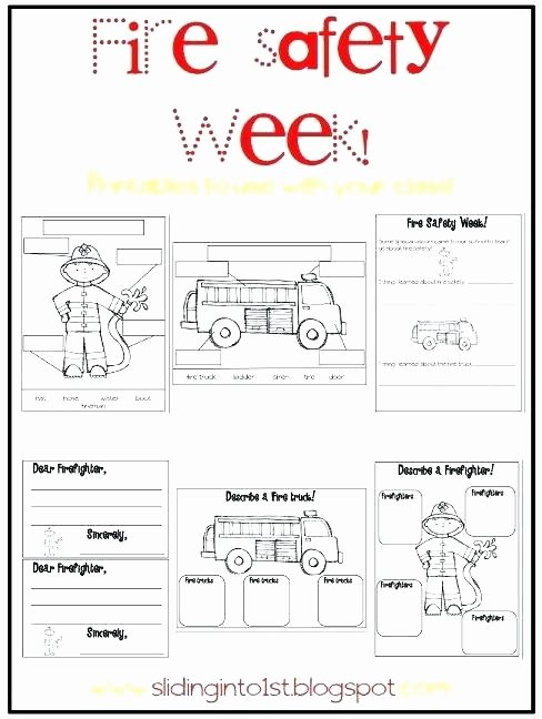 Free Printable Fire Safety Worksheets Printable Bus Safety Worksheets