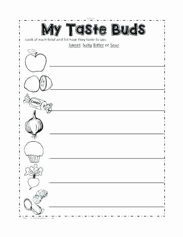 Free Printable Five Senses Worksheets Free Printable Five Senses Worksheets Sense organs Worksheet